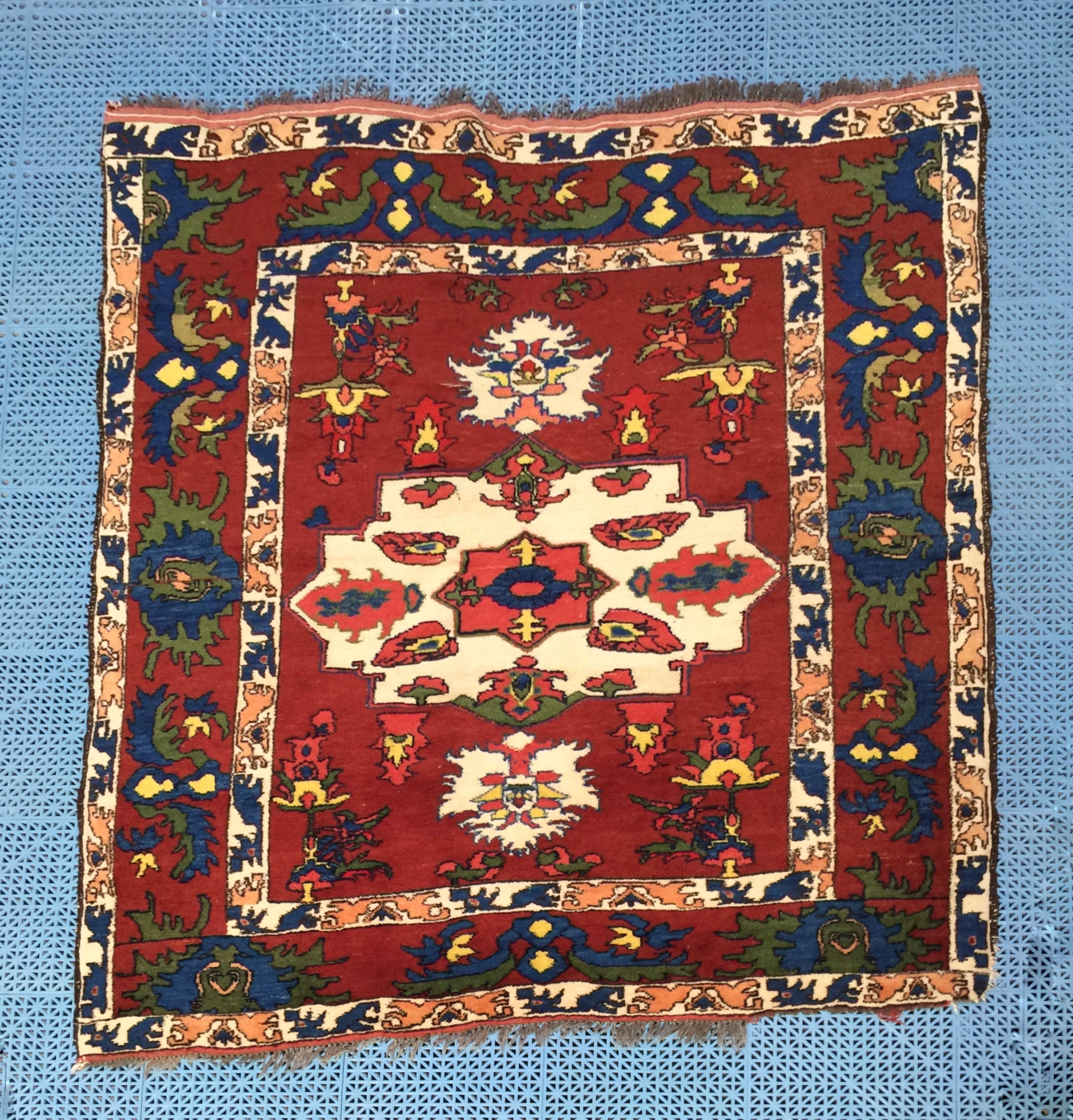 Turkish 5x7 wool