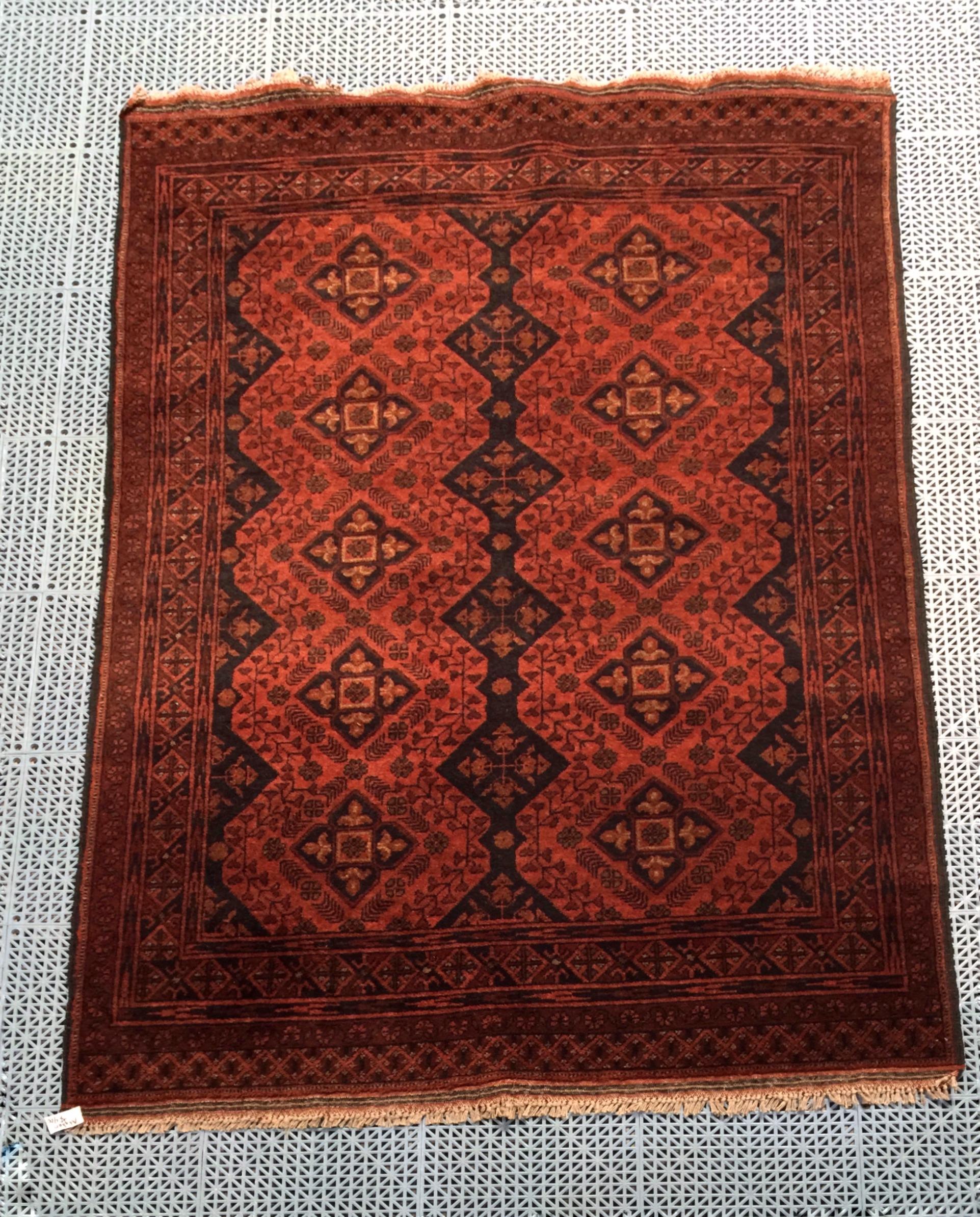afghan 4x6 wool